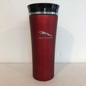 Red Jaguar stainless steel coffee tumbler 16oz
